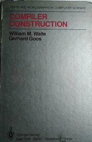 【英文原版计算机理论】《编译器构造》Compiler Construction
