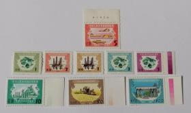 1988、89版印花税新票9枚合售