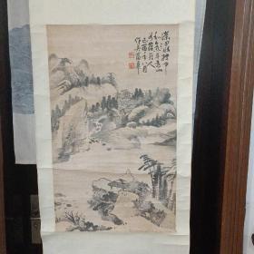 晚清著名书画家  蒲华  花卉大条幅  画的非常好 真假自鉴  低价卖,包手绘 500元不还价