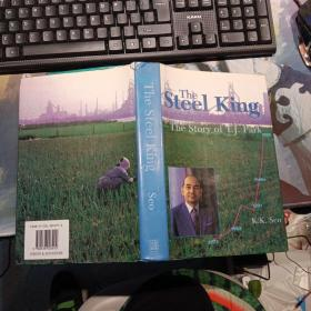 The Steel King:The story Of T.J.Park 《钢铁大王》【英文原版】附照片