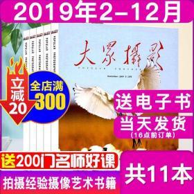 全新正版【珍藏11本】大众摄影杂志2019年2-12月打包中国摄影摄像过期刊摄影艺术技巧观点和摄像器材拍摄摄影之友影像视觉经验