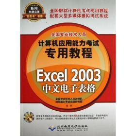 正版   Excel 2003中文电子表格全国专业技术人员计算机应用能力  命题研究组北京希望电子出版社9787830020705 书籍 新华书店旗舰店官网