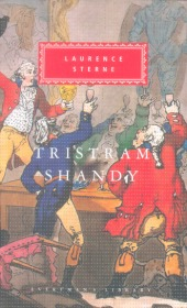Tristram Shandy Laurence Sterne 项狄传 劳伦斯·斯特恩 everyman's library 人人文库 英文原版 布面封皮琐线装订 丝带标记 内页无酸纸可以保存几百年不泛黄