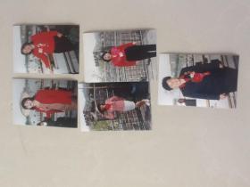 全国劳模代表个人照片5张(包邮存