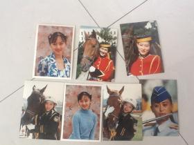 美女照片7张(包邮存