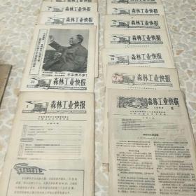 森林工业快报(12本)
