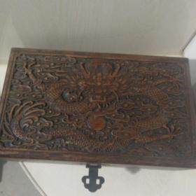 花梨木首饰盒,珠宝箱,以前收藏的,2.3斤。