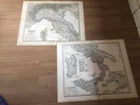1877年 意大利两张一套