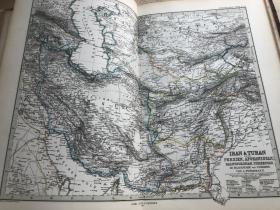 1876年波斯地图