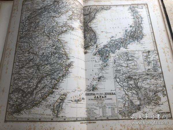 1877年中国地图