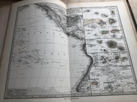 1877年太平洋地图
