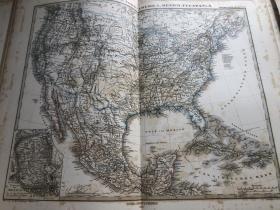 1876年 美国地图