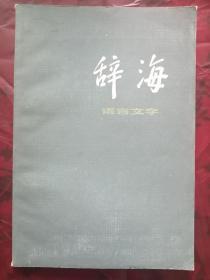 辞海(语言文字)