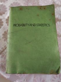 概率与统计 (全英文)