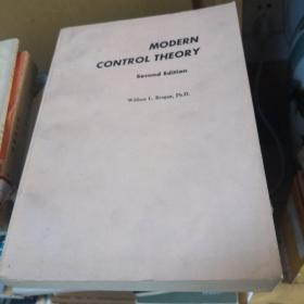 Modern Control Theory现代控制理论(第二版 国内影印)