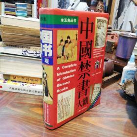 中国禁书大观    上海文化出版社32开精装本