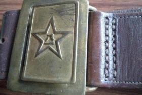 五十年代军用老皮带