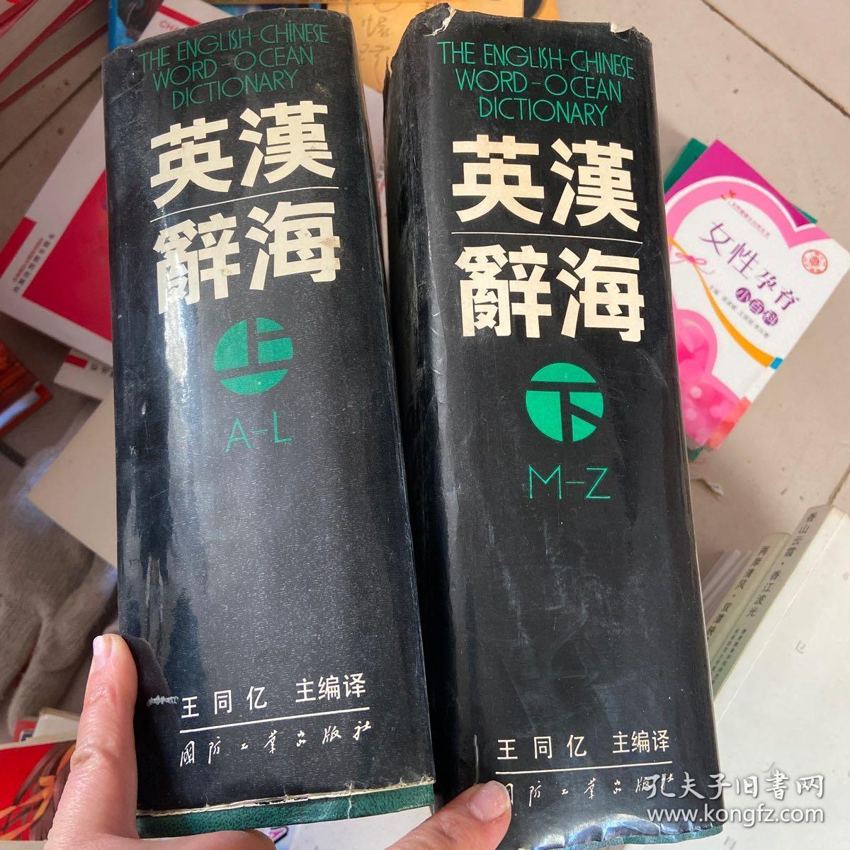 英汉辞海 上下两册