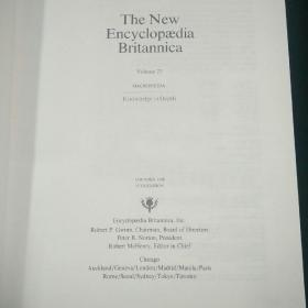The New Encyclopaedia Britannica(大英百科全书)-(23)