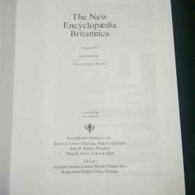 The New Encyclopaedia Britannica(大英百科全书)-(25)