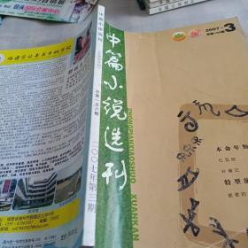 《中篇小说选刊》2007 3,