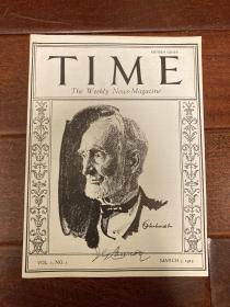 1923年,美国时代杂志创刊号
