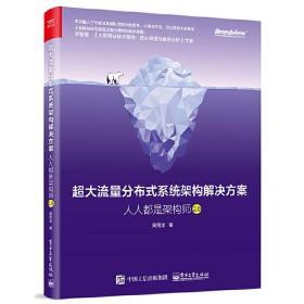 超大流量分布式系统架构解决方案-人人都是架构师2.0 高翔龙 9787121385056 电子工业出版社 正版图书