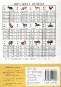 2020年农家历-(农历庚子年)