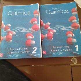 Química Undécima edición  1/2  两本 西班牙语 化学。好像是复印本。