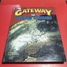 美国中学社会研究教材:地理、世界史、美国史、公民与政府 Gateway to Social Studies:Vocabulary and Concepts【精装本16开】
