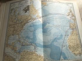 1877年大西洋地图