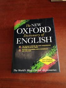 The New Oxford Dictionary of English 新牛津英文大辞典
