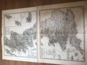 1876年 英国地图两张