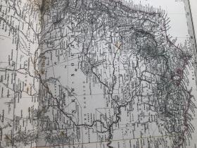 1877年澳大利亚新那威尔士州等地图