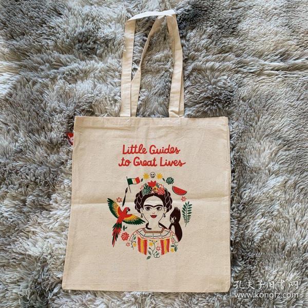 Laurenceking出版社 弗里达卡罗纪念书袋