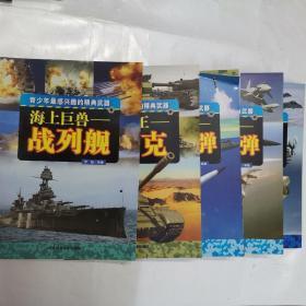 海上巨兽:战列舰+陆战之王:坦克+精准杀手:巡航导弹+空战利器:机载导弹+地面杀手:攻击机(5册合售)