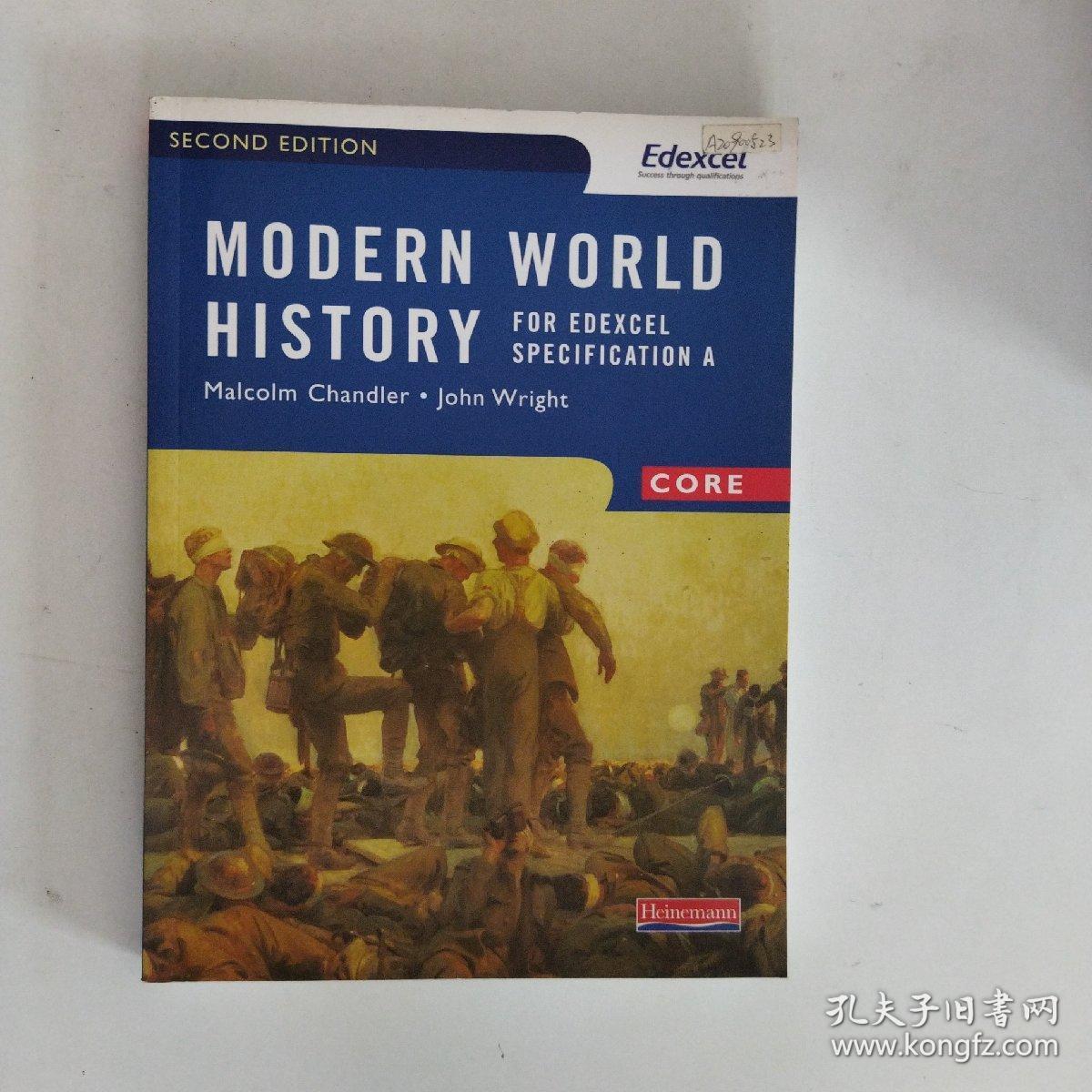 【外文原版】Modern World History for Edexcel: Core Textbook爱德思现代世界史:核心教材