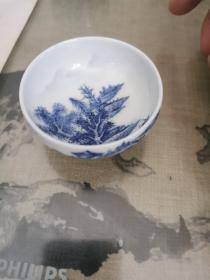 景德镇瓷1—手绘茶杯一个