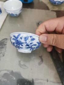 景德镇瓷3—手绘茶杯一个