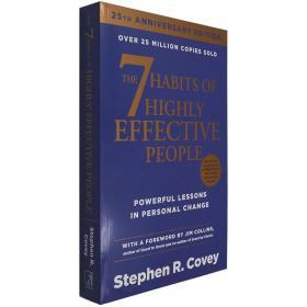 正版英文原版高效能人士的七个习惯英文原版7 Habits of Highly Effective经典职场励志成功学畅销书Stephen R. Covey斯蒂芬科维