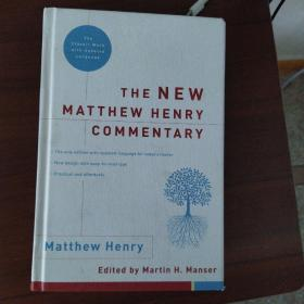 【外文原版】 The New Matthew Henry Commentary 马修·亨利的新评论