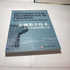 金融数学技术:不完全市场中的工具