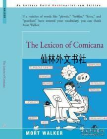【包邮】The Lexicon Of Comicana
