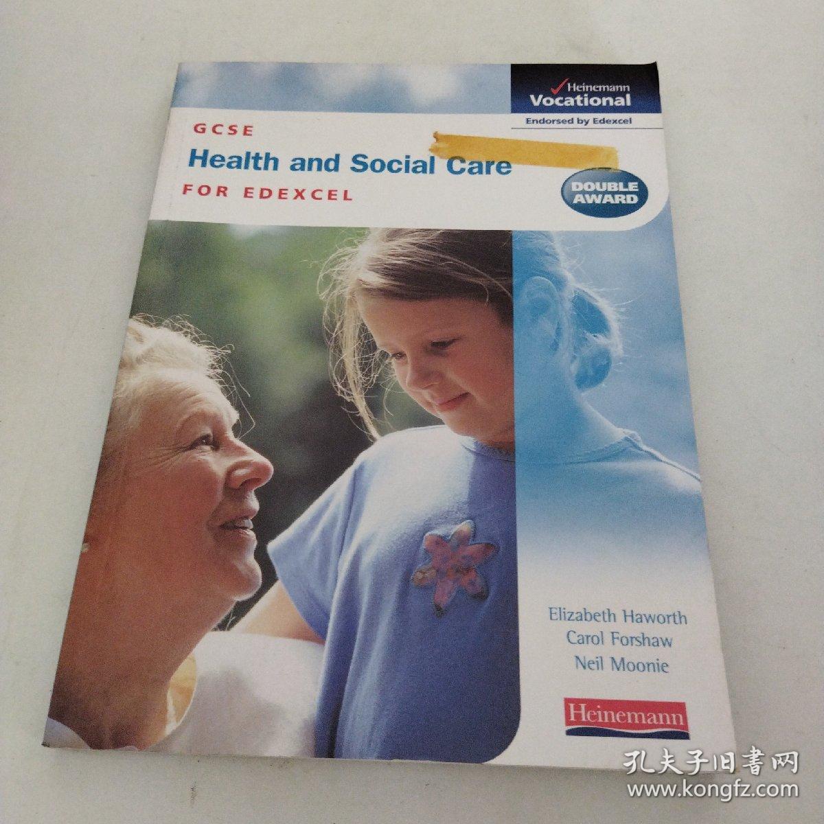 【外文原版】GCSE Health & Social Care Edexcel Student Book