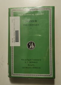 THE ODYSSEY BOOKS 1-12(loeb classical library)