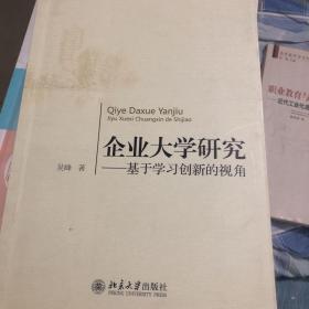 企业大学研究:基于学习创新的视角 吴峰