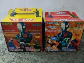 VCD 八盒装 杰克-奥特曼 宇宙英雄 (1-16集)提盒