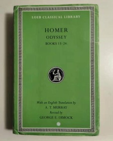 ODYSSEY BOOK 13-24(loeb classical library)