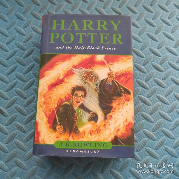 Harry Potter and the Half-Blood Prince(哈利波特与混血王子,精装本,英文原版)