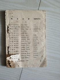 本国地名拼音表(初稿)
